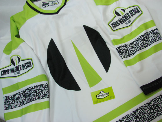 CWD Hockey Jersey back