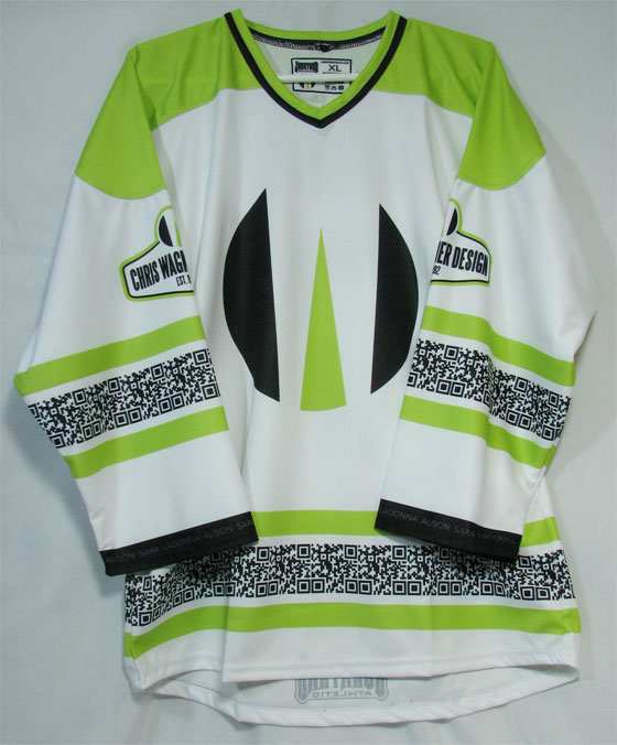 CWD Hockey Jersey artwork